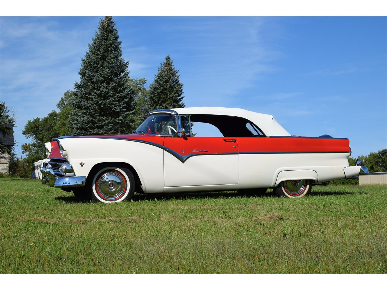 Large Picture of Classic 1955 Sunliner Offered by Hooked On Classics - OGX1