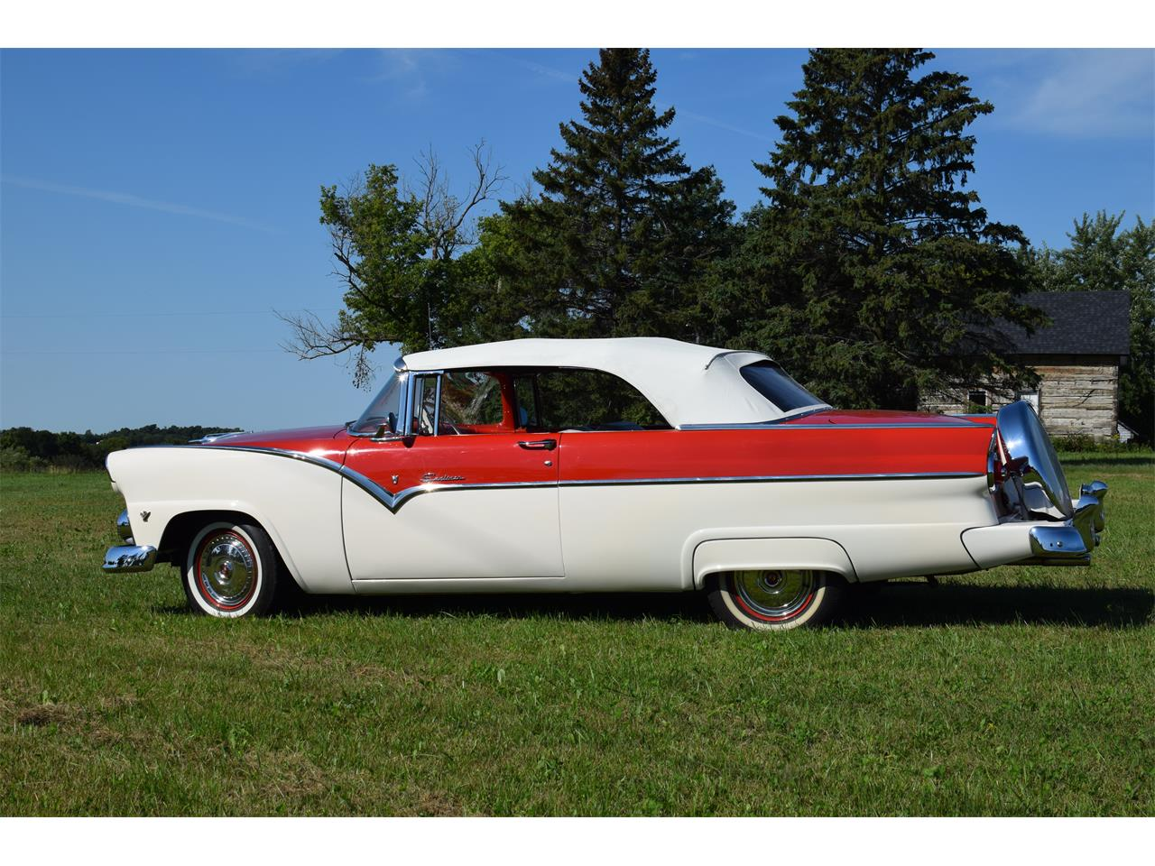 Large Picture of '55 Ford Sunliner Offered by Hooked On Classics - OGX1