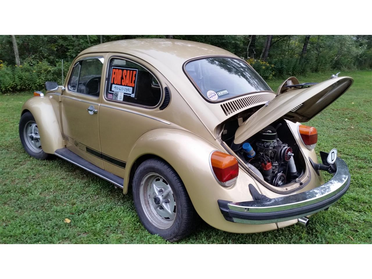 Large Picture of '74 Volkswagen Super Beetle located in New York - $10,500.00 - OGY2