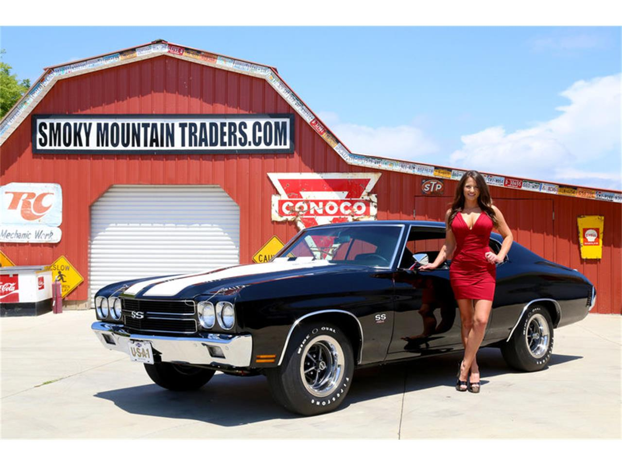 Large Picture of Classic 1970 Chevrolet Chevelle located in Lenoir City Tennessee Offered by Smoky Mountain Traders - OH0R