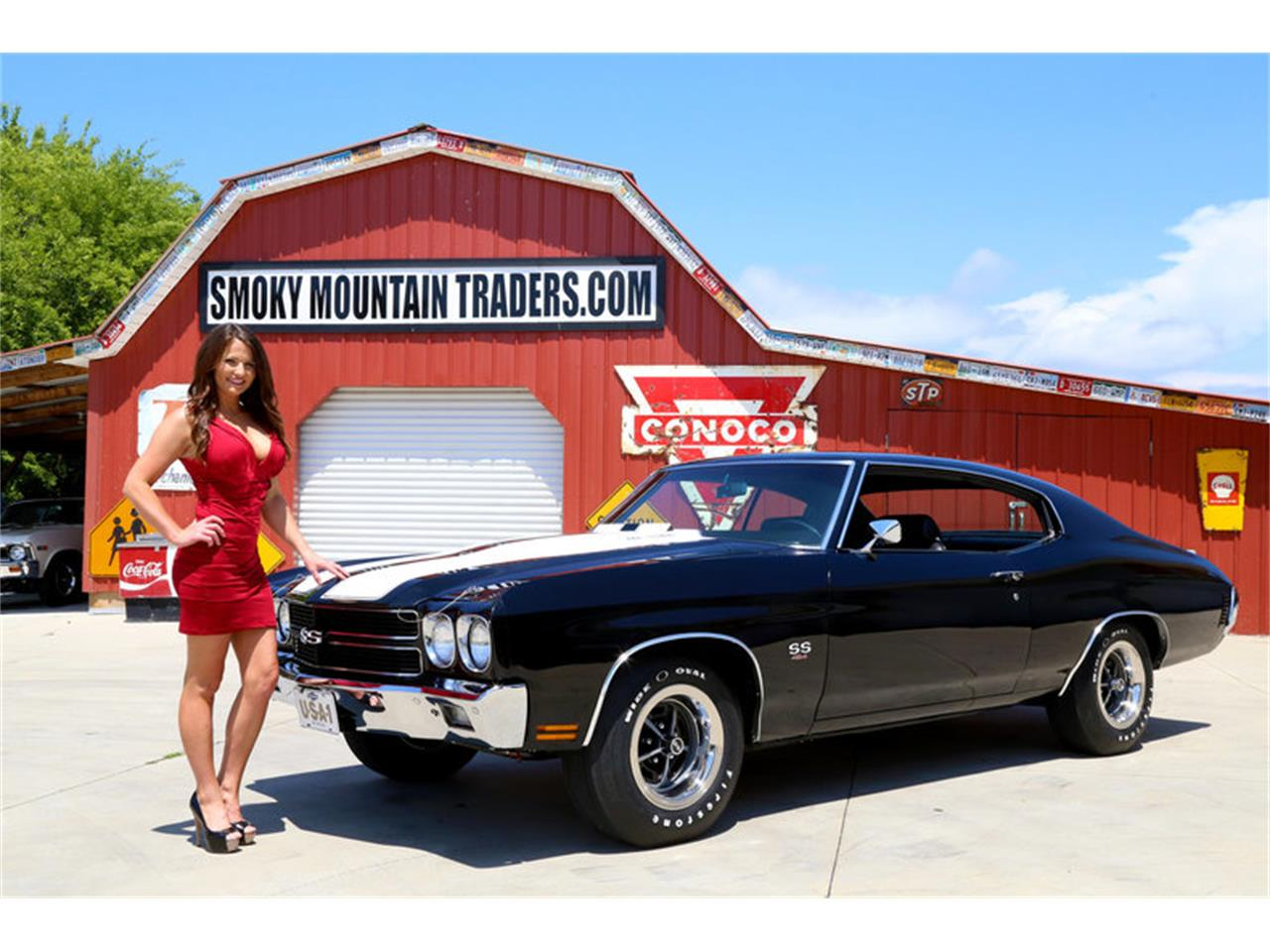 Large Picture of Classic '70 Chevrolet Chevelle located in Lenoir City Tennessee Offered by Smoky Mountain Traders - OH0R