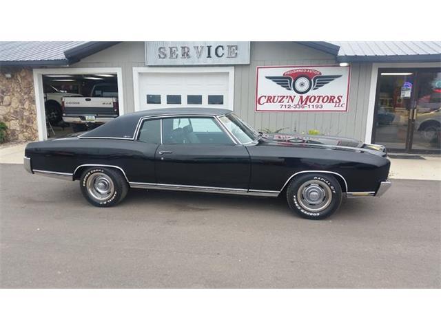 Picture of Classic '72 Monte Carlo located in Spirit Lake Iowa - $18,995.00 - OH3C