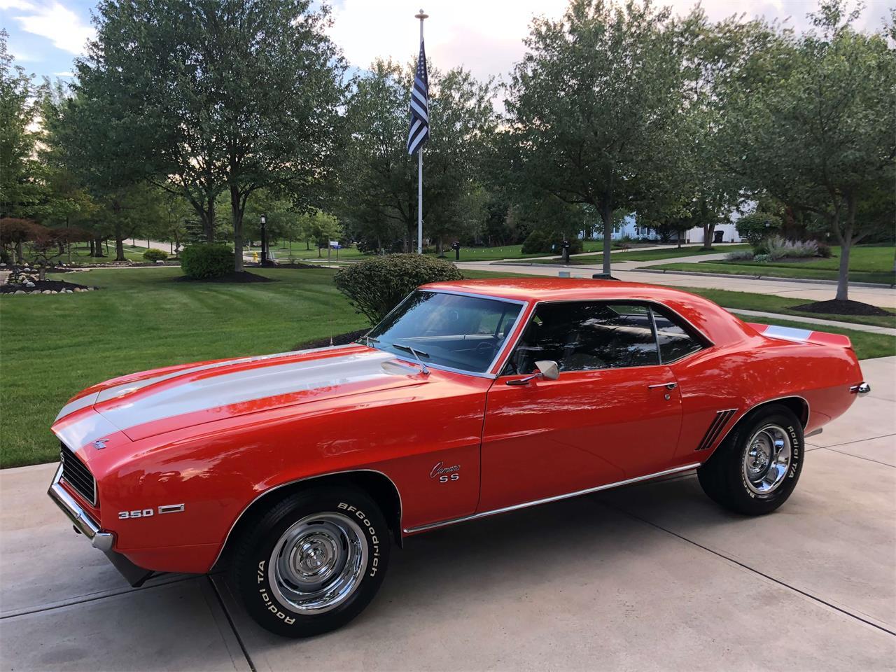 For Sale 1969 Chevrolet Camaro Ss In North Royalton Ohio