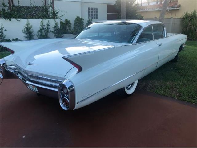 1960 Cadillac Deville For Sale On Classiccars Com