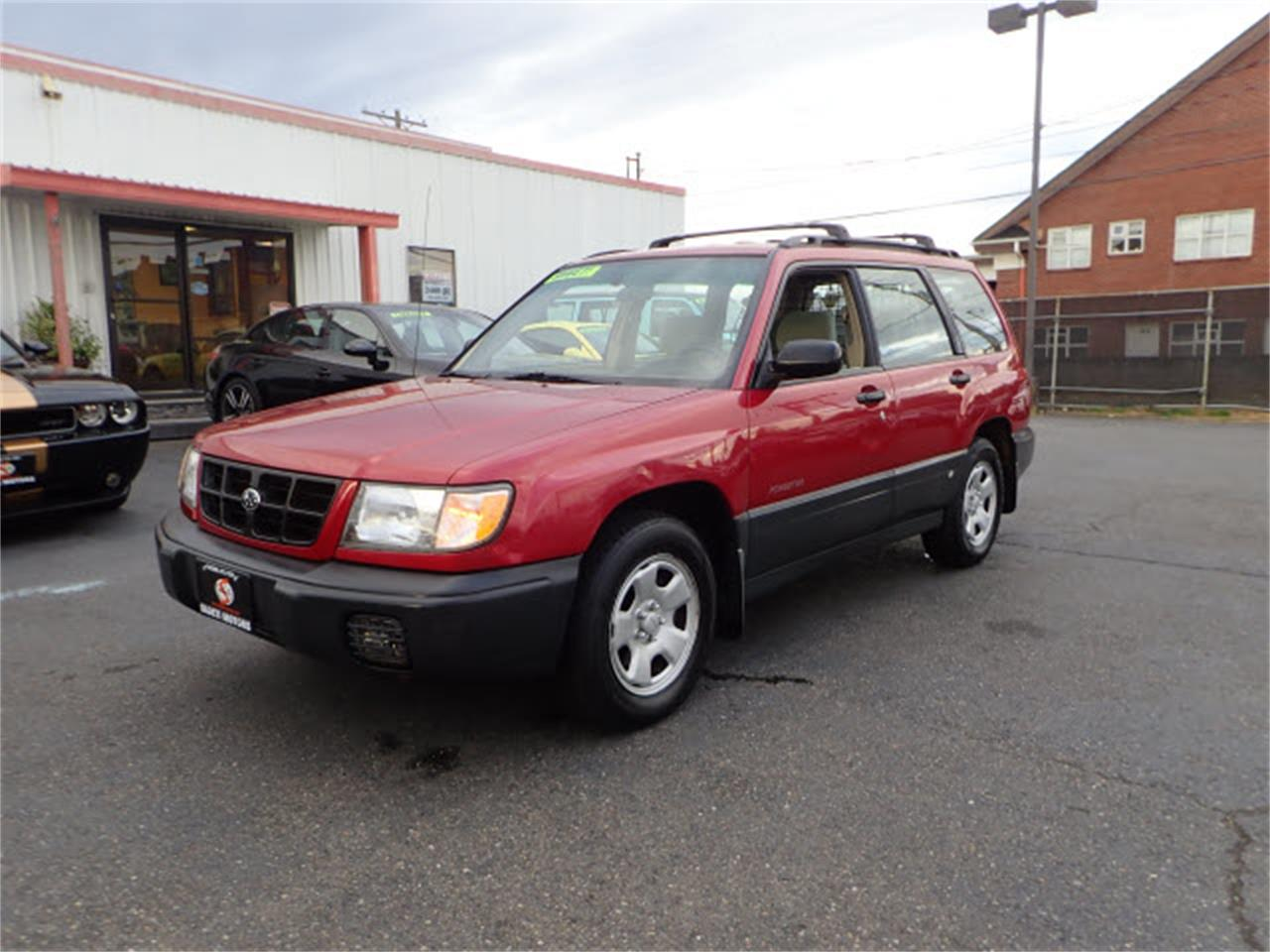 Large Picture Of 99 Forester