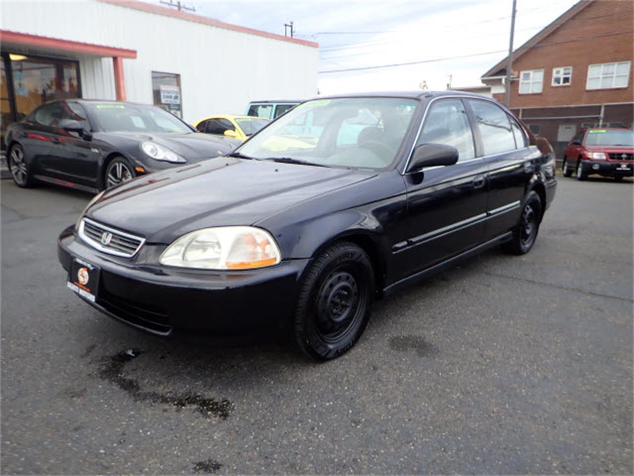 Civic Classic Sedan Black Olx: 1996 Honda Civic For Sale