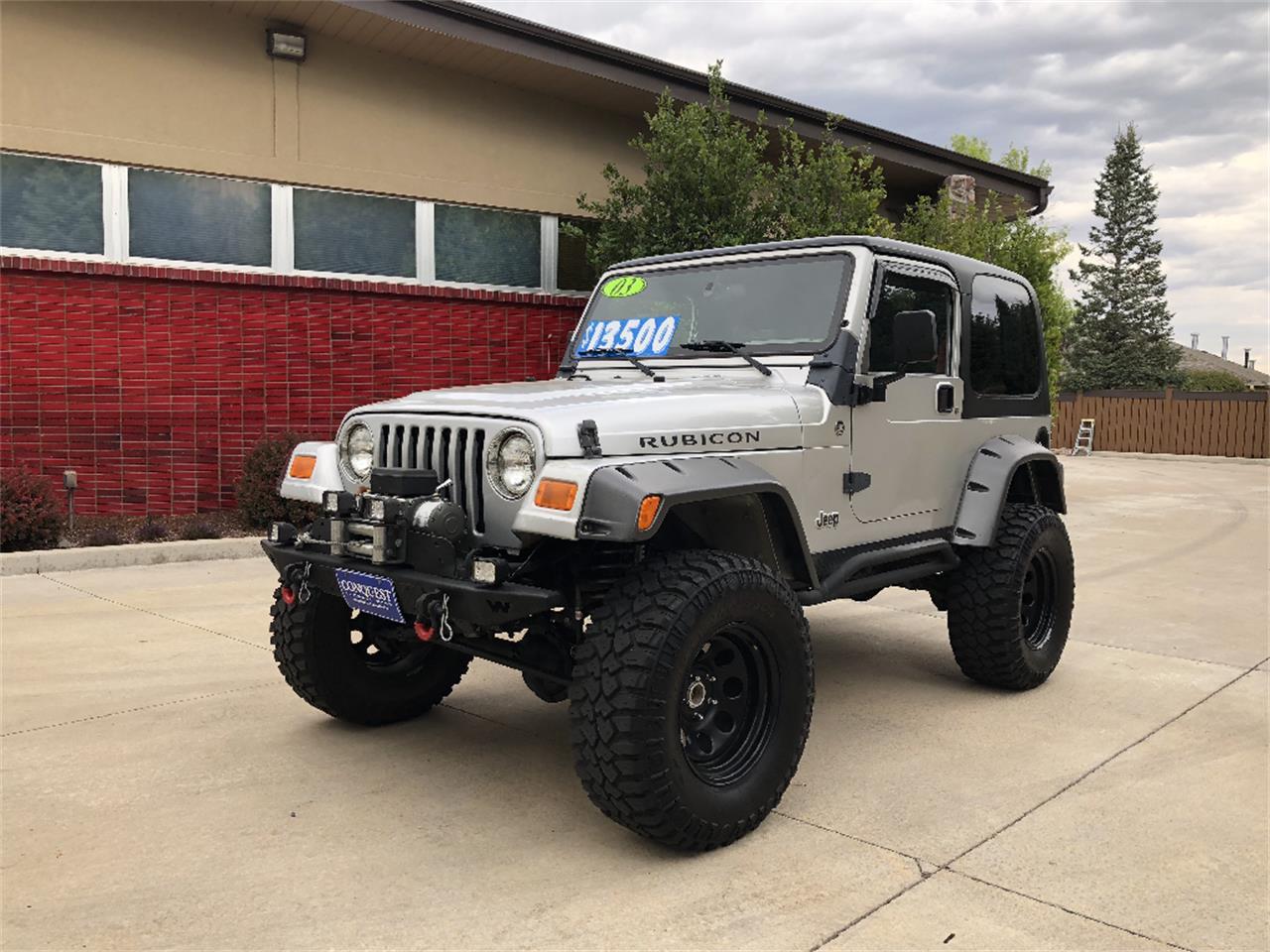 Wrangler For Sale >> 2003 Jeep Wrangler For Sale Classiccars Com Cc 1142453