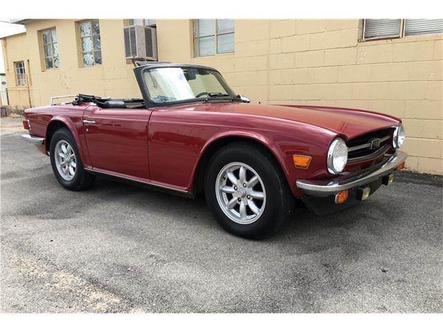 Picture of 1976 TR6 Auction Vehicle Offered by  - OHMK