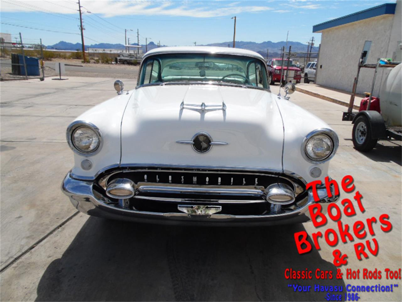 Large Picture of 1955 Oldsmobile 88 Holiday Rocket located in Lake Havasu Arizona - $25,900.00 Offered by The Boat Brokers - OFTW