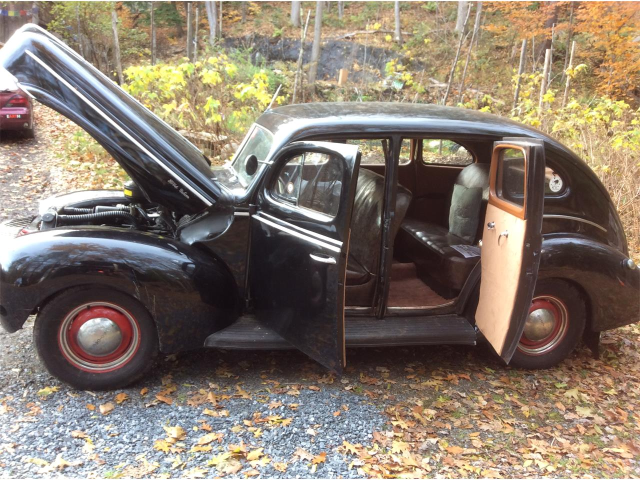 Large Picture of '40 Ford Sedan Limo located in Springfield Vermont - OHQS