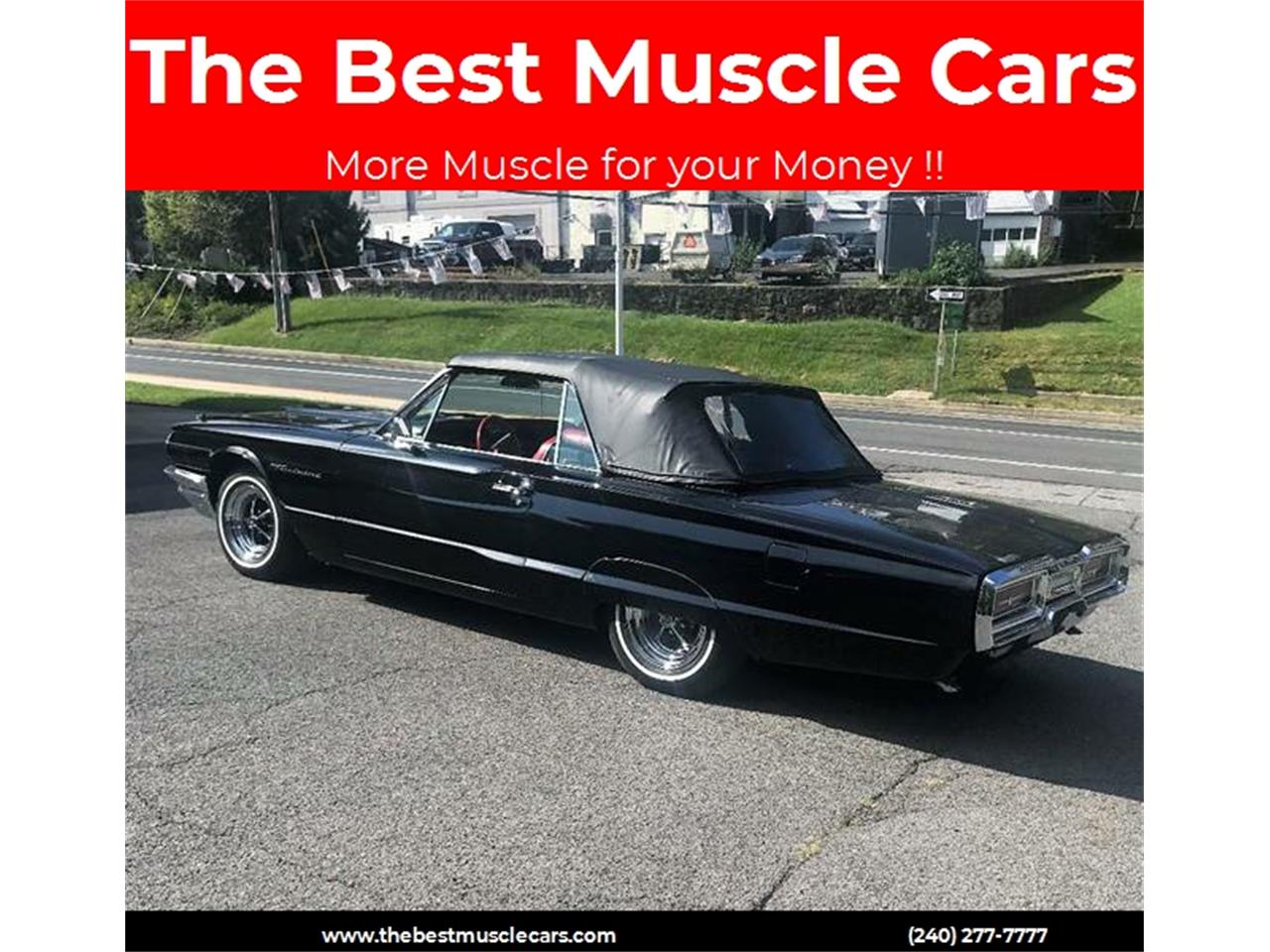 Large Picture of Classic '64 Thunderbird located in Maryland - $26,900.00 Offered by Eric's Muscle Cars - OHWZ