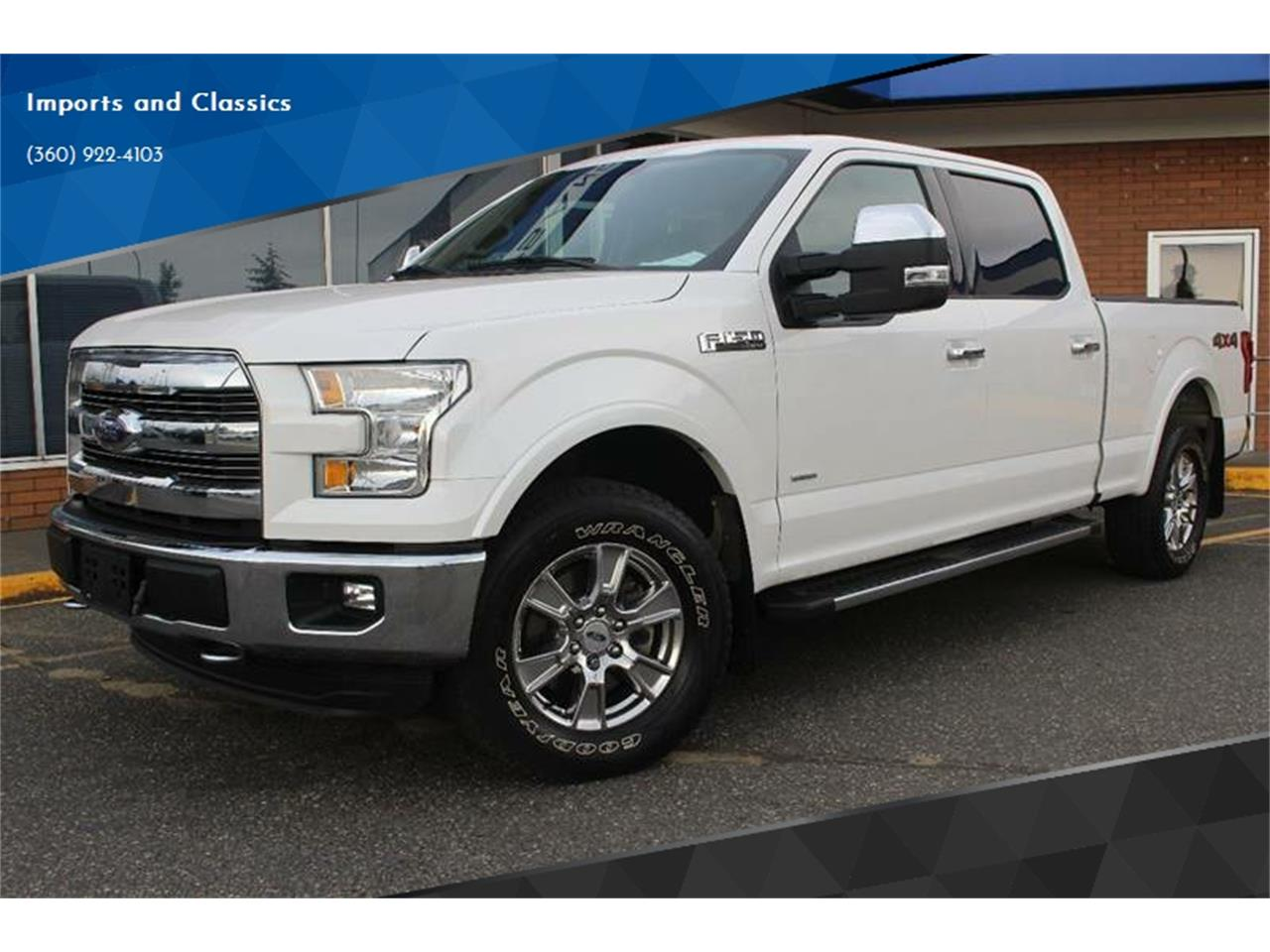 2015 F 150 For Sale >> For Sale 2015 Ford F150 In Lynden Washington