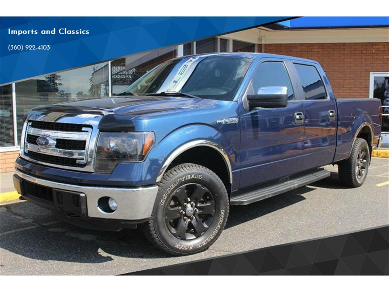 2014 Ford F150 For Sale >> 2014 Ford F150 For Sale Classiccars Com Cc 1143046