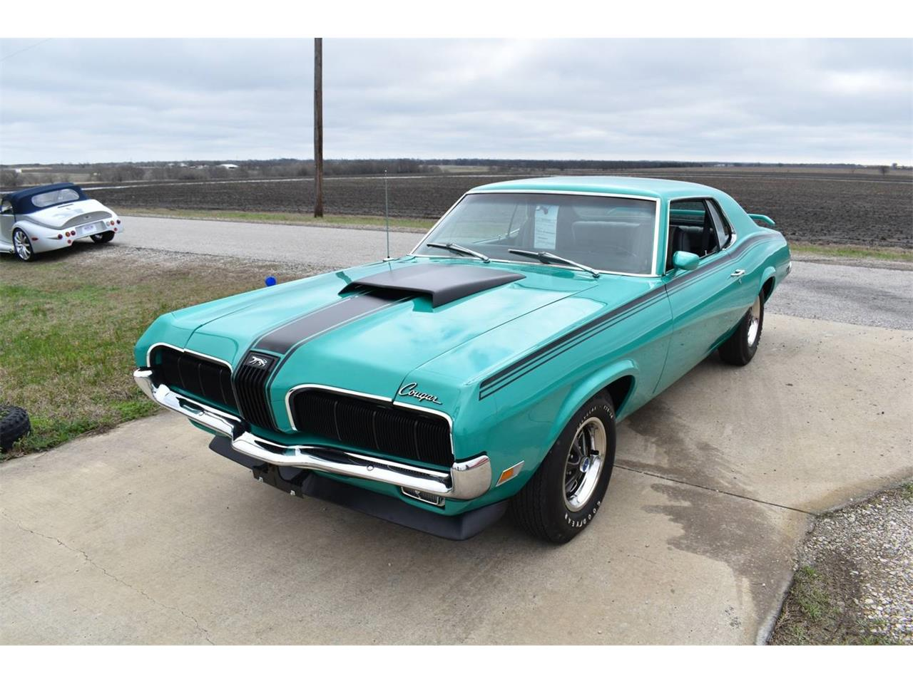 Large Picture of 1970 Cougar located in Waxahachie Texas Auction Vehicle - OI1E