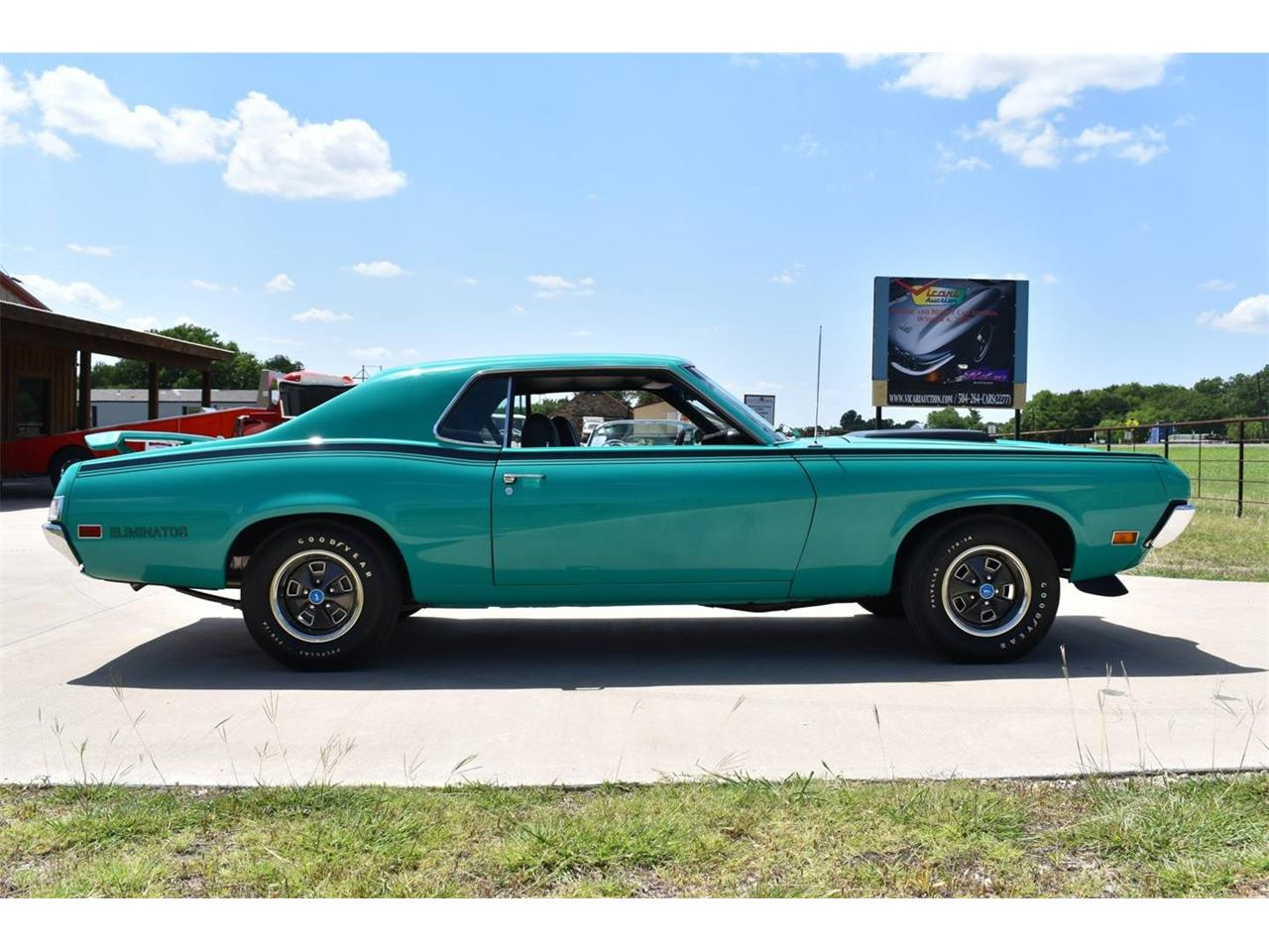 Large Picture of Classic 1970 Mercury Cougar Auction Vehicle - OI1E
