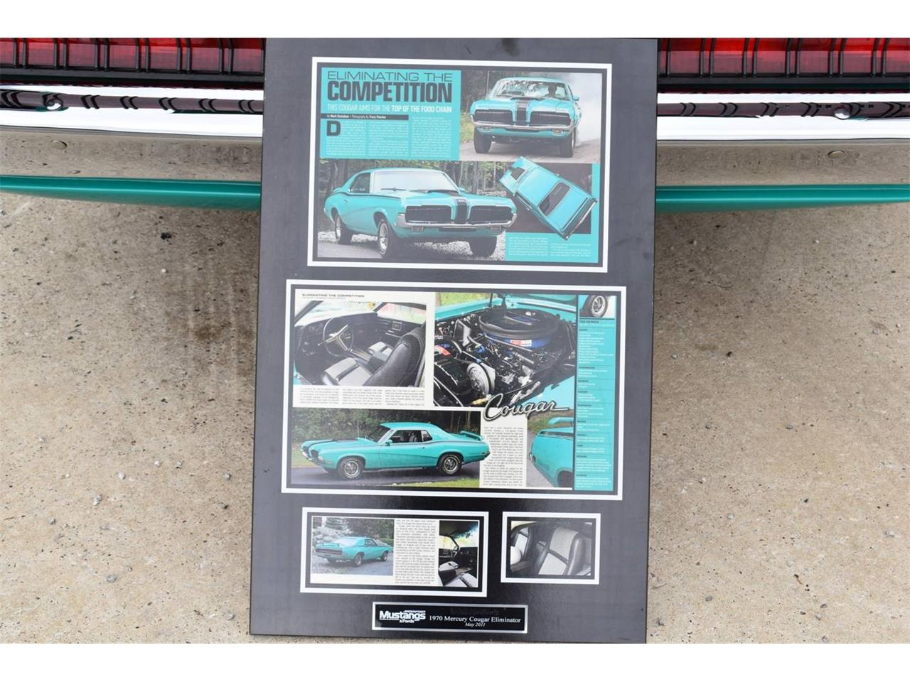 Large Picture of Classic 1970 Cougar located in Texas Auction Vehicle - OI1E