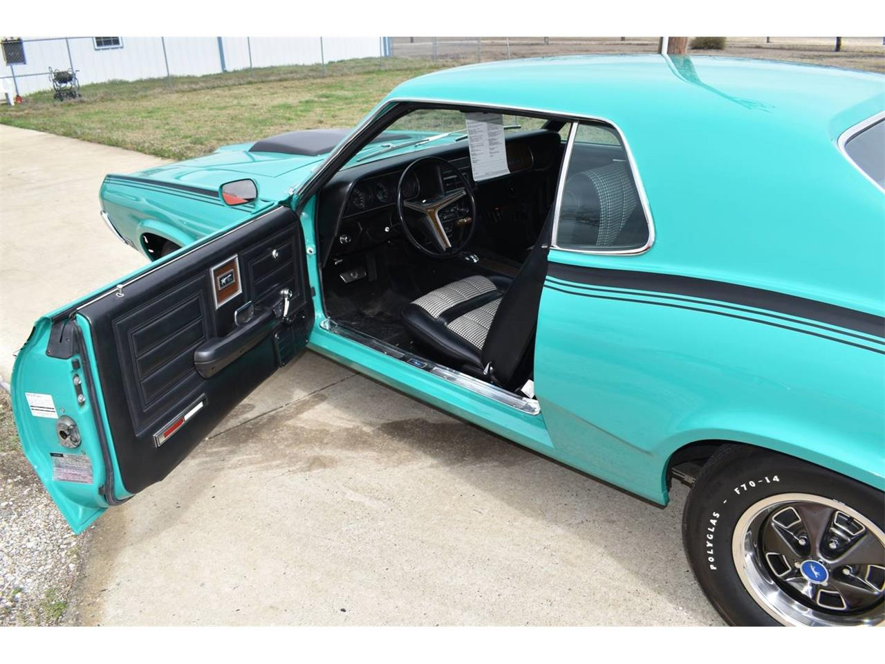 Large Picture of Classic 1970 Mercury Cougar located in Texas Auction Vehicle Offered by Vicari Auction - OI1E