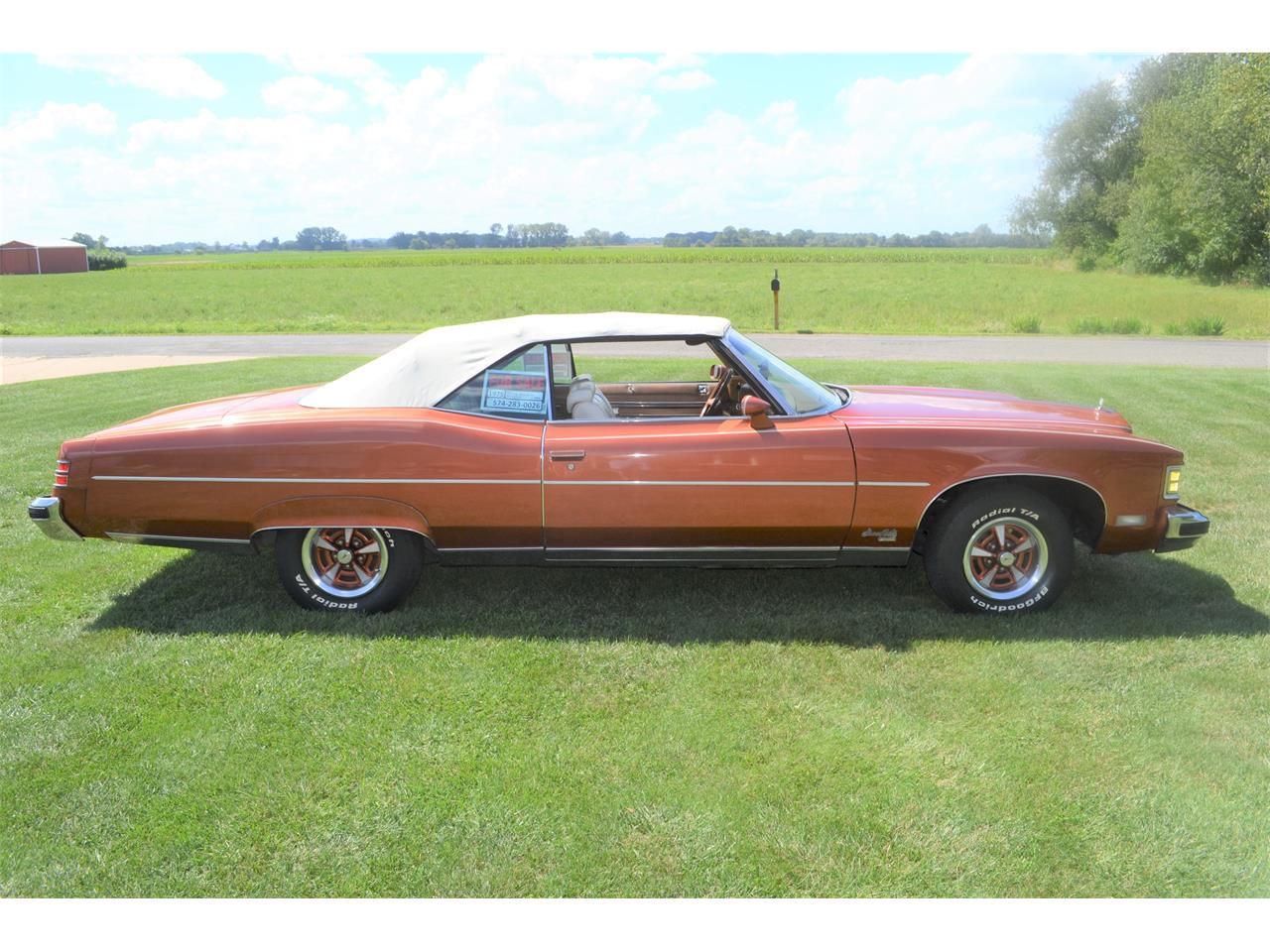 Large Picture of 1975 Pontiac Grand Ville - $17,500.00 Offered by a Private Seller - OI2B