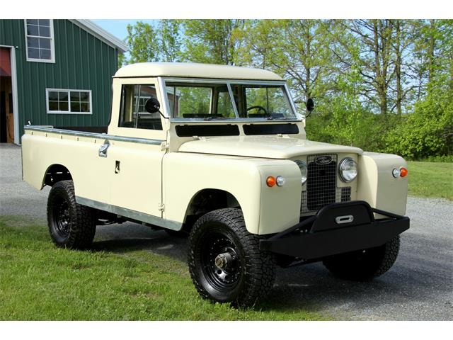 classic land rover series iia for sale on. Black Bedroom Furniture Sets. Home Design Ideas