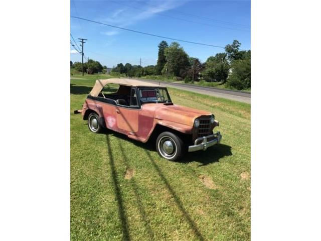 1949 To 1951 Willys Jeepster For Sale On Classiccars Com