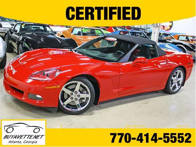 Picture of 2007 Chevrolet Corvette located in Georgia Offered by  - OI8B