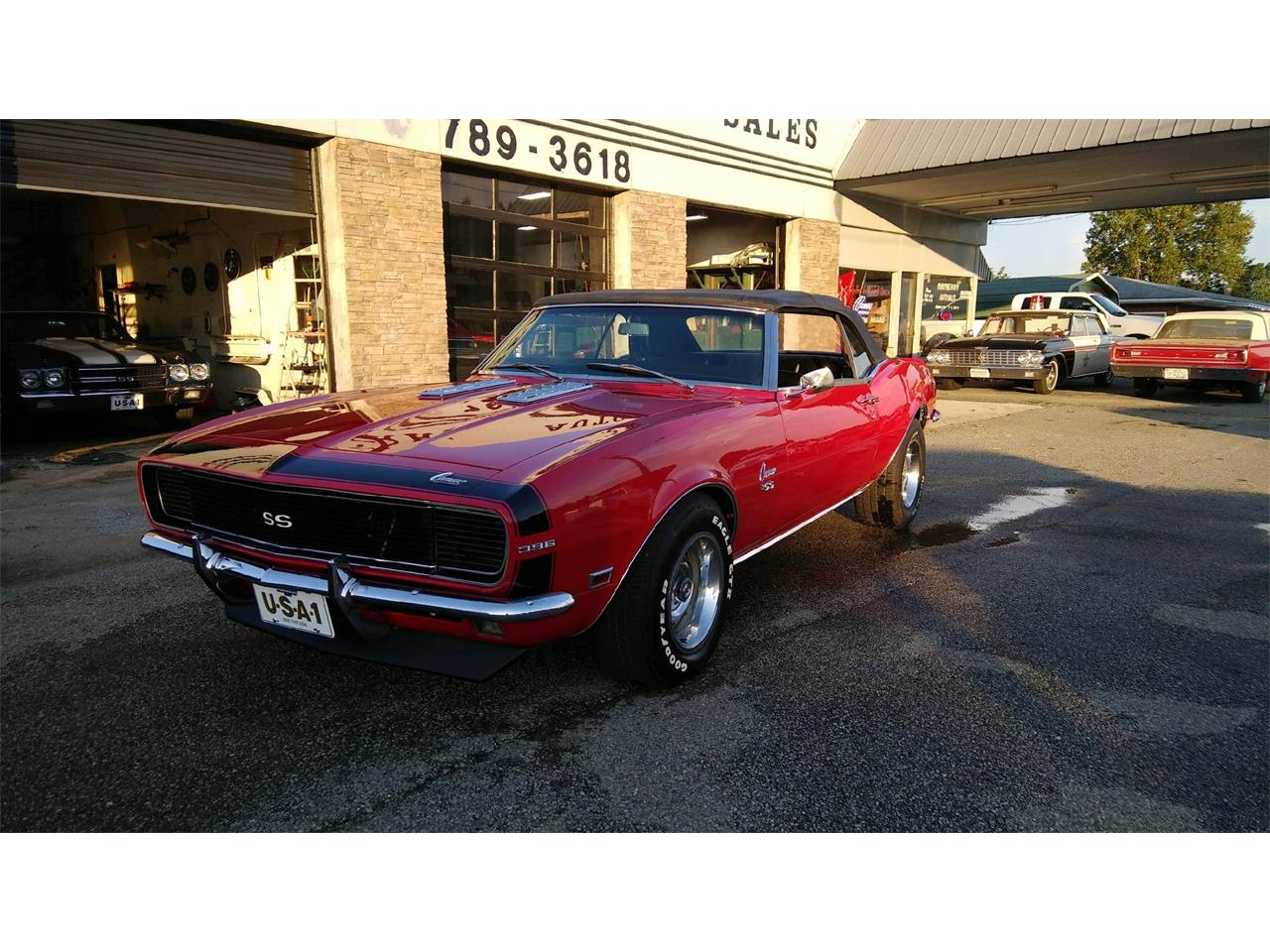 1968 Chevrolet Camaro Rs Ss Convertible For Sale Large Picture Of 68 Located In Auction Vehicle Oie4