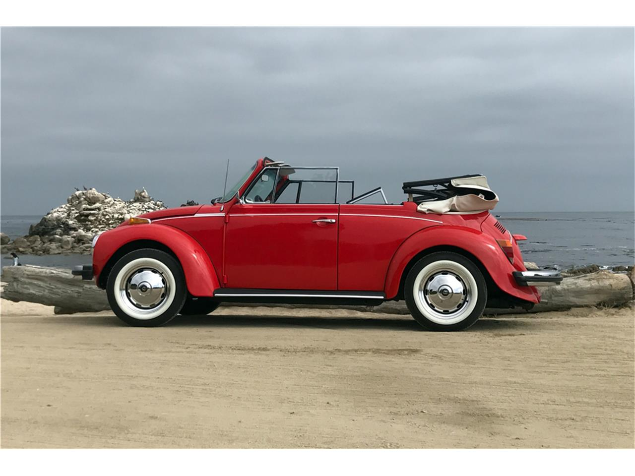 Large Picture of 1978 Volkswagen Super Beetle Auction Vehicle - OIH0