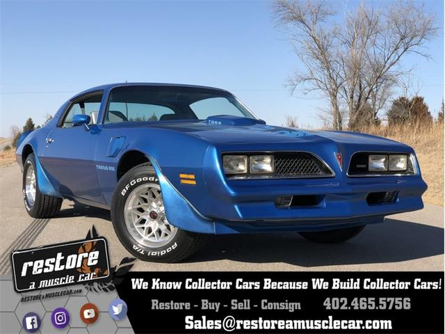 Picture of 1978 Pontiac Firebird Trans Am located in Lincoln Nebraska - $28,900.00 Offered by  - OFX2