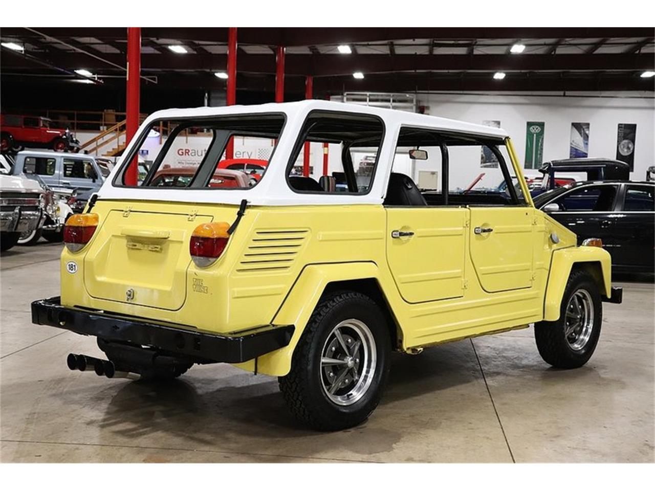 Large Picture of Classic '73 Volkswagen Thing located in Kentwood Michigan Offered by GR Auto Gallery - OIIQ