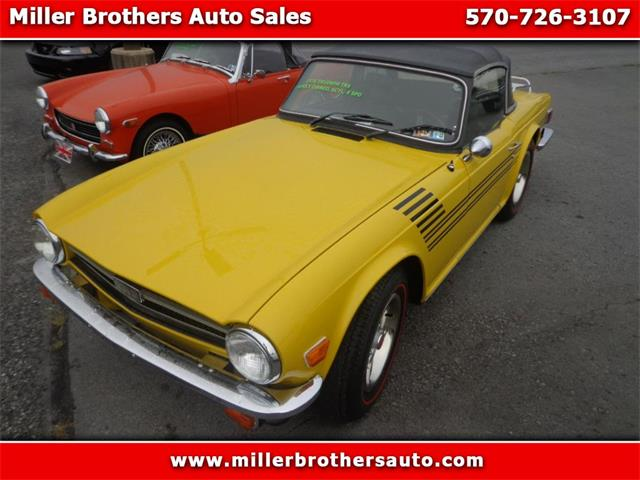 Picture of '76 TR6 located in Pennsylvania - $23,995.00 Offered by  - OIN9