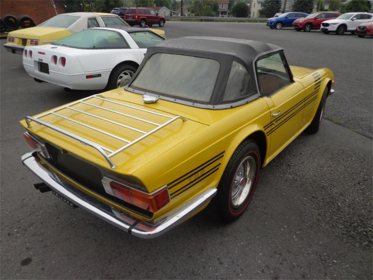Large Picture of '76 TR6 - OIN9
