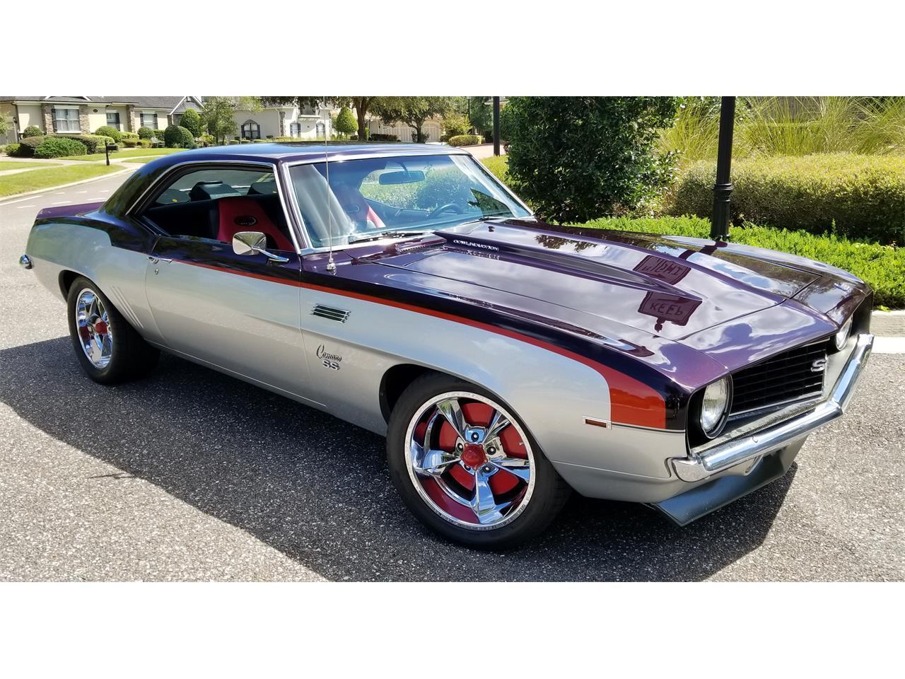 1969 Chevrolet Camaro Ss For Sale Classiccars Com Cc 1143996