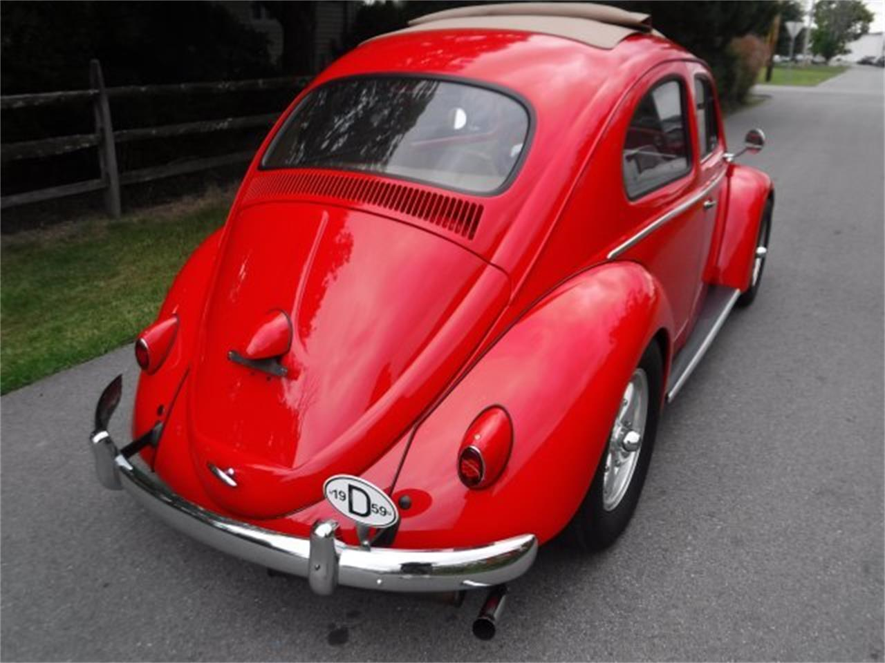 Large Picture of 1959 Volkswagen Beetle located in Ohio - OIZB