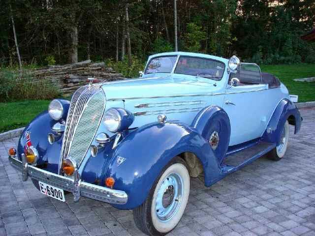 Picture of Classic '36 Hudson Custom 8 - OJ44