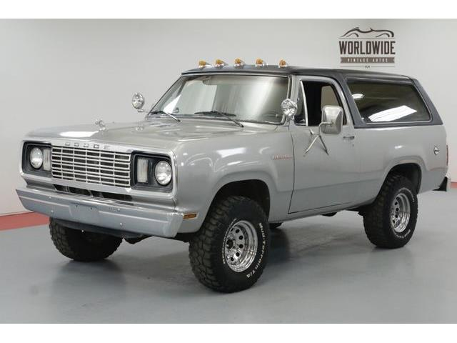 Picture of '78 Ramcharger - OJ80