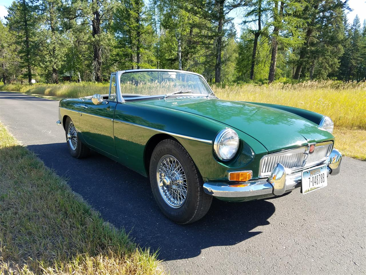 For Sale: 1967 MG MGB in Whitefish, Montana