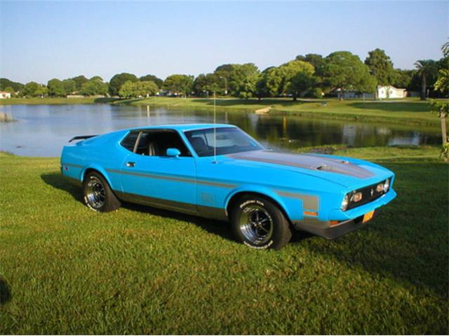 Picture of '72 Mustang Mach 1 - OJCE