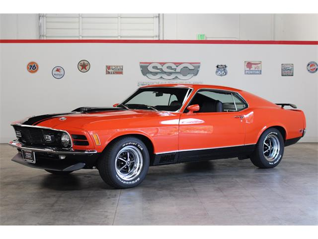 1970 ford mustang mach 1 value