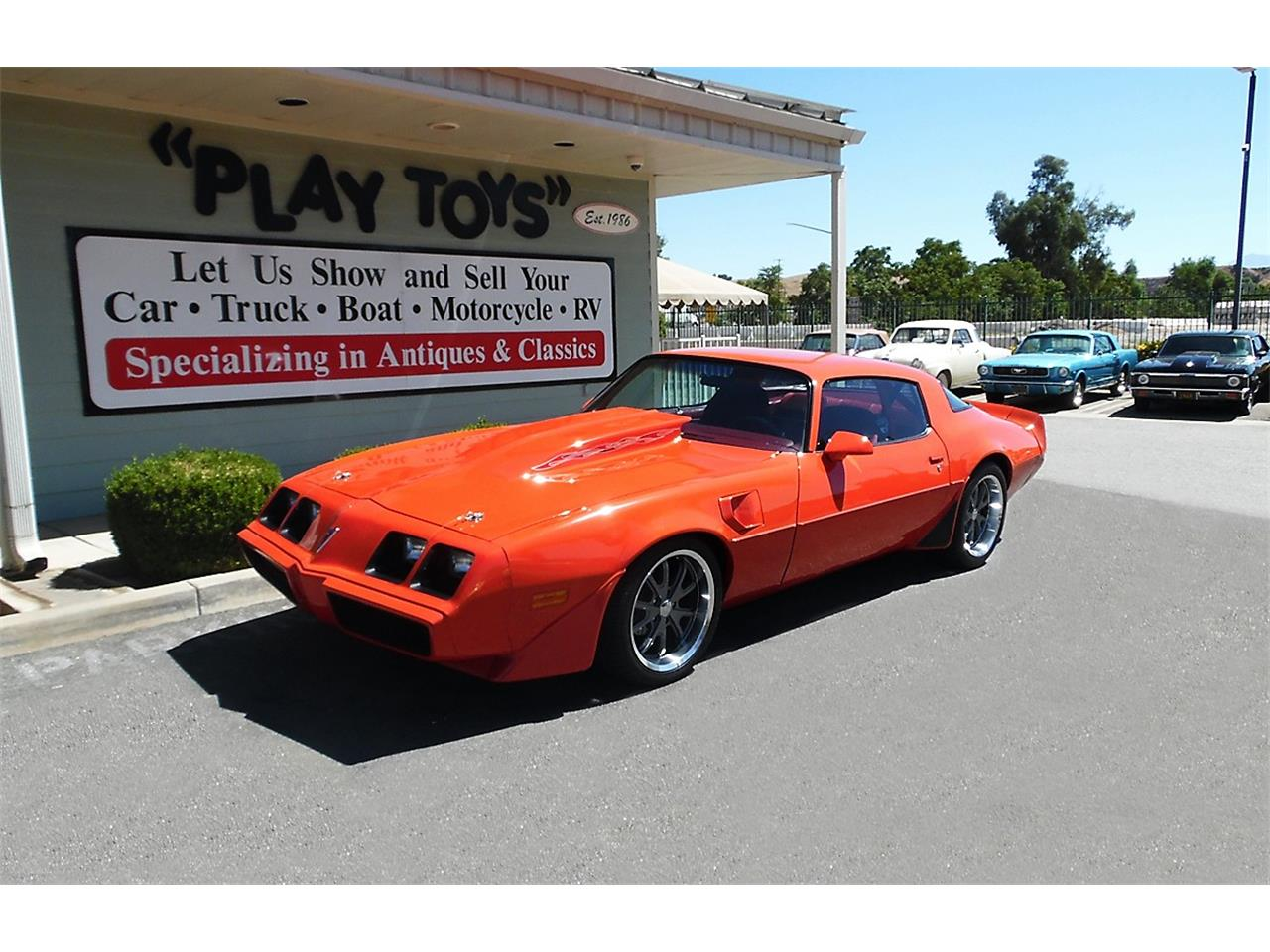 Large Picture of 1980 Pontiac Firebird Trans Am located in Redlands California Offered by Play Toys Classic Cars - OJP6