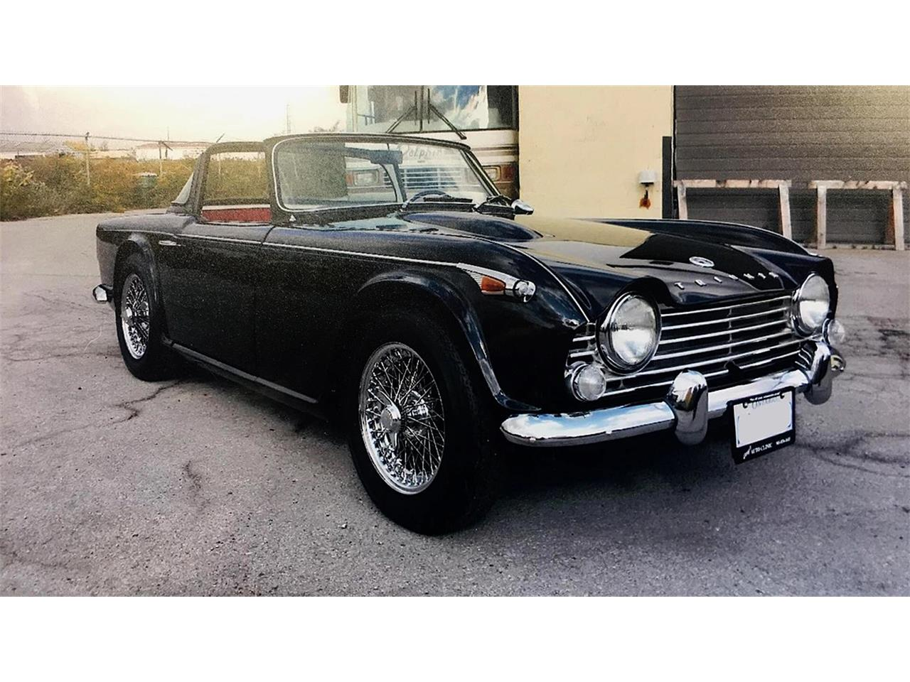 Large Picture of '67 TR4 - OJPI