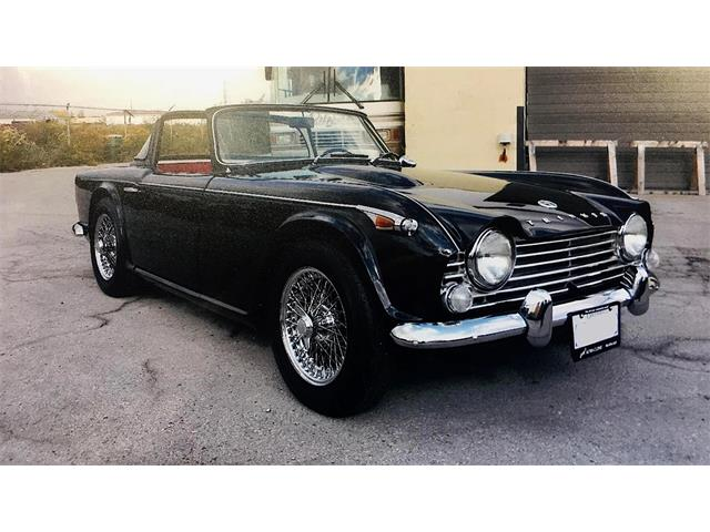 Picture of Classic 1967 Triumph TR4 Auction Vehicle Offered by  - OJPI