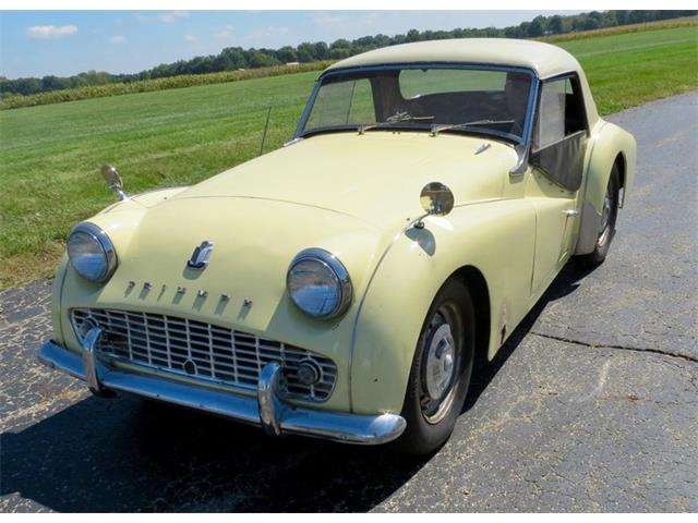 Picture of Classic 1959 Triumph TR3 located in Ohio - $18,000.00 Offered by  - OJWI