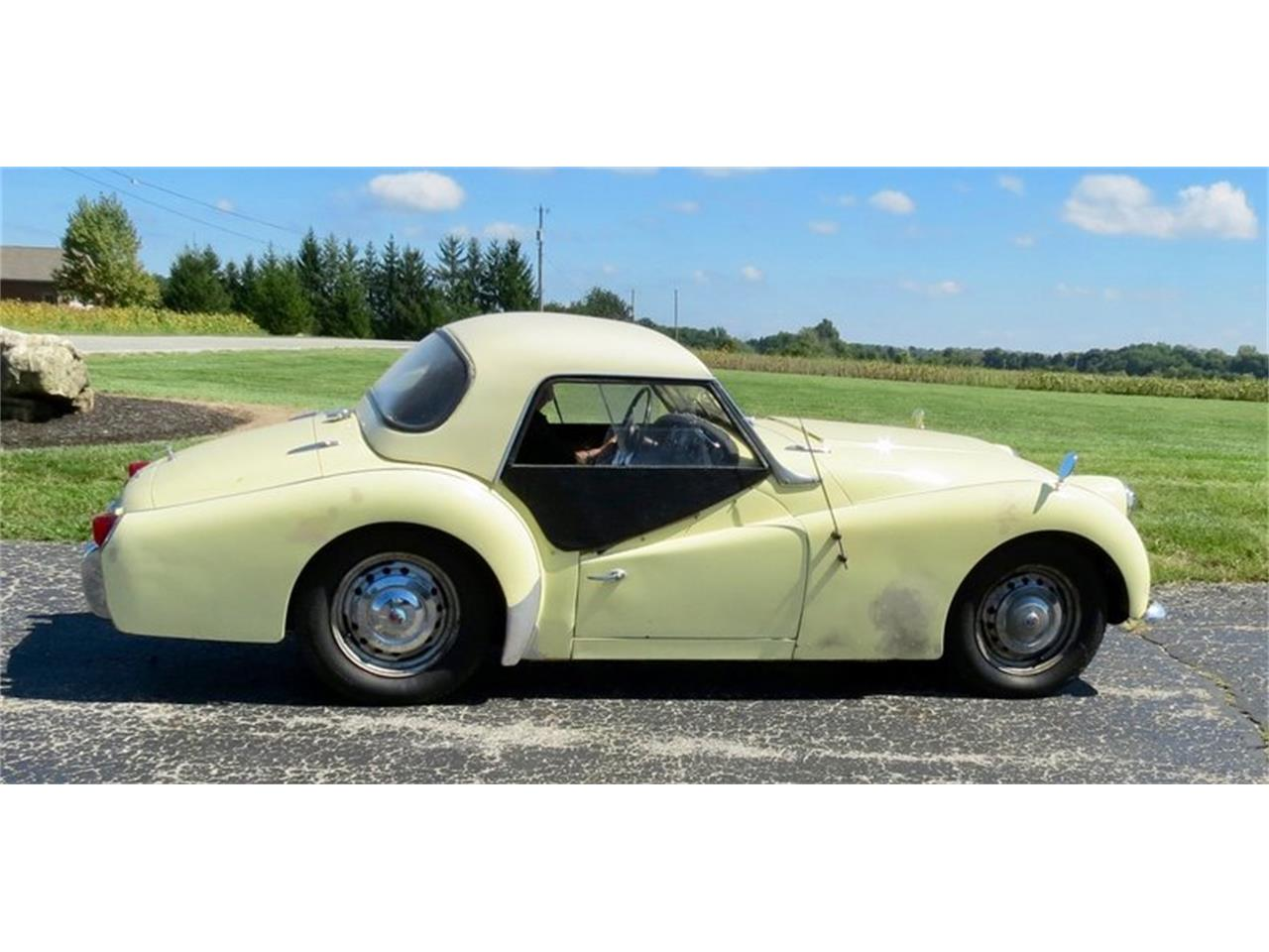 Large Picture of '59 TR3 - OJWI