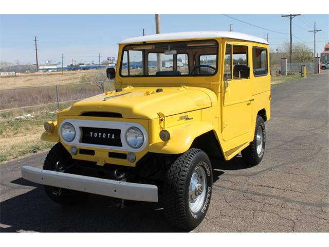 Picture of Classic '67 Toyota Land Cruiser FJ Auction Vehicle - OK61