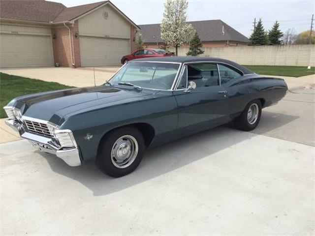 Oppdatert 1967 Chevrolet Impala for Sale on ClassicCars.com IB-48