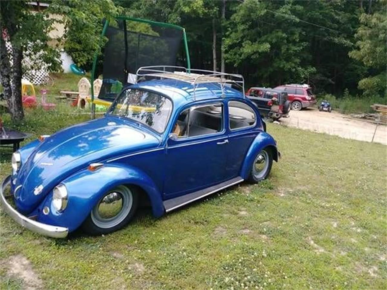 1967 Vw Bug >> For Sale 1967 Volkswagen Beetle In Cadillac Michigan