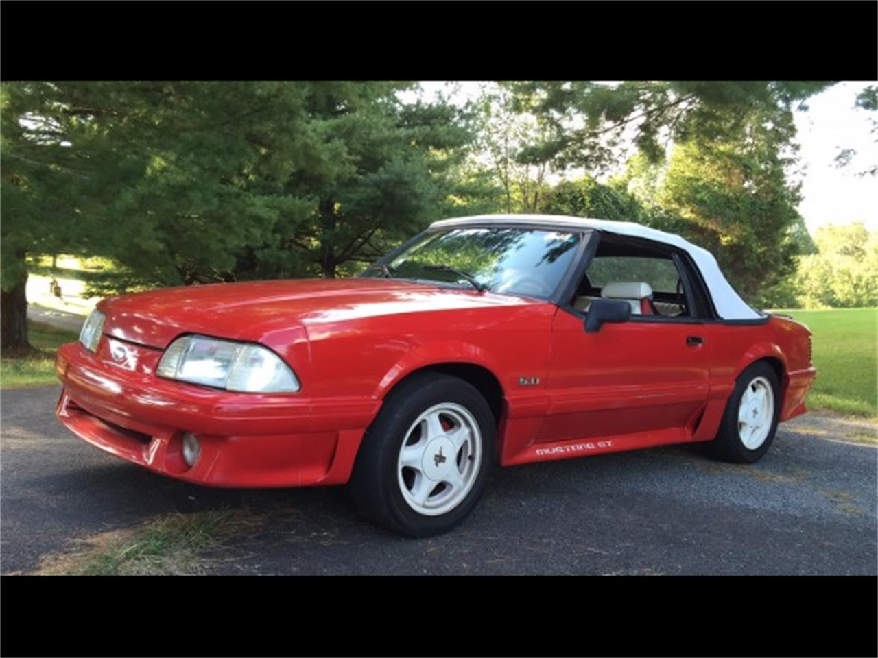For sale 1992 ford mustang in harpers ferry west virginia