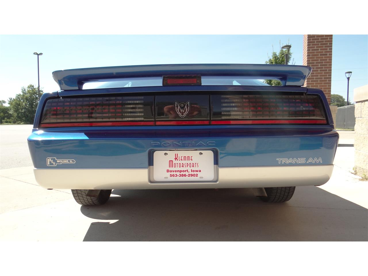 Large Picture of '89 Firebird Formula Trans Am located in Iowa - $9,900.00 Offered by Klemme Klassic Kars - OKMV