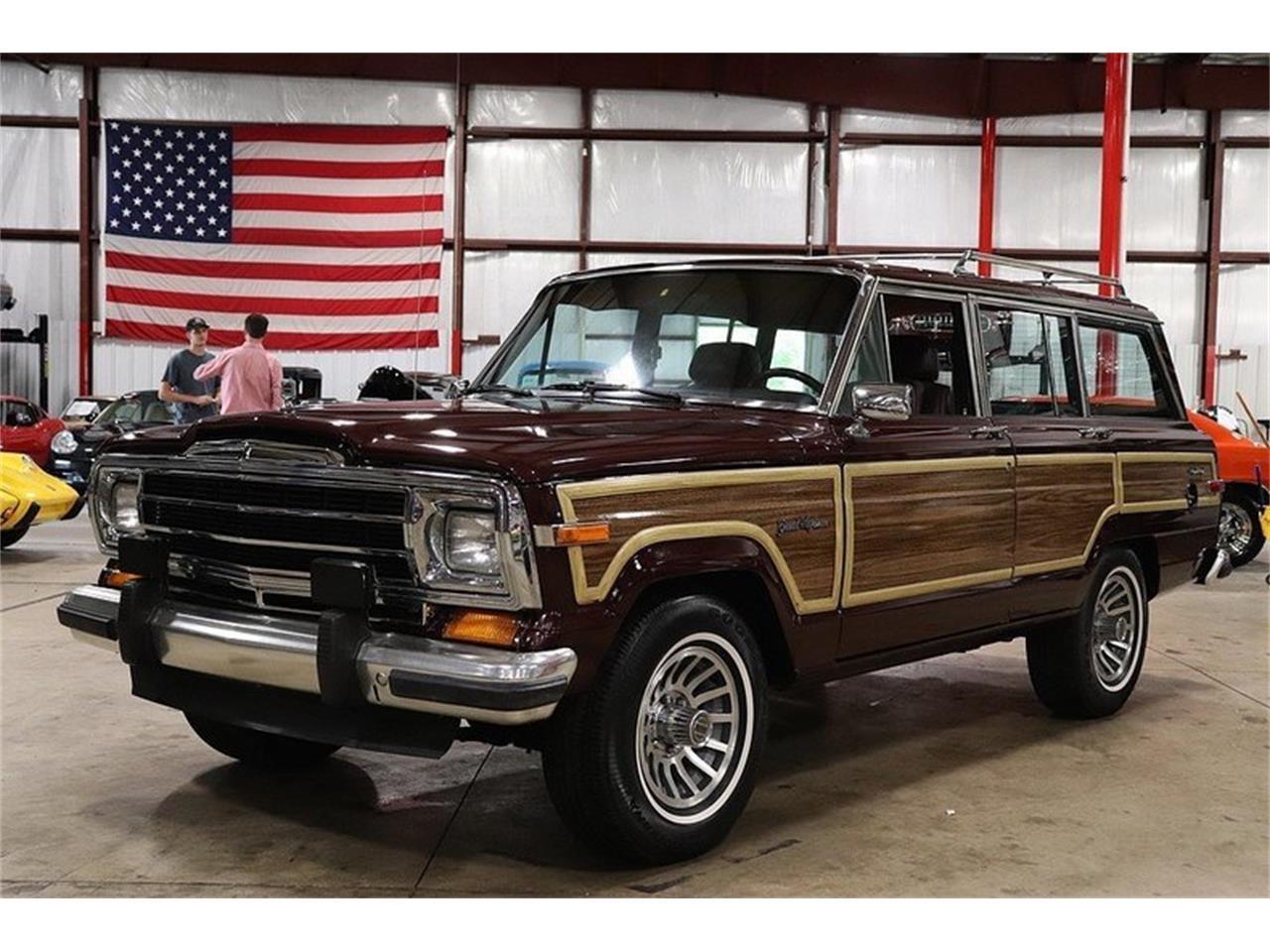 Jeep Grand Wagoneer >> 1987 Jeep Grand Wagoneer For Sale Classiccars Com Cc 1146514