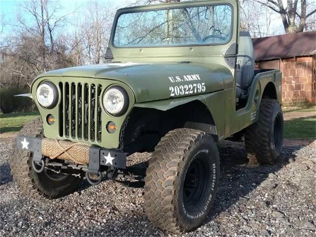 Willys Jeep For Sale >> 1960 Willys Jeep For Sale Classiccars Com Cc 1146608